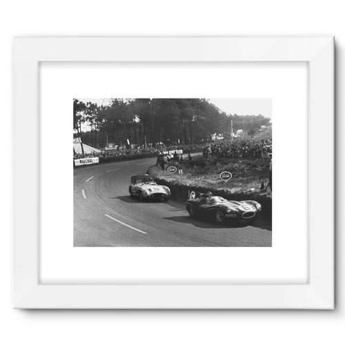Le Mans, France. 11 - 12 June 1955 | White
