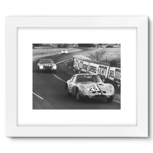 Le Mans, France. 15th - 16th June 1963   White