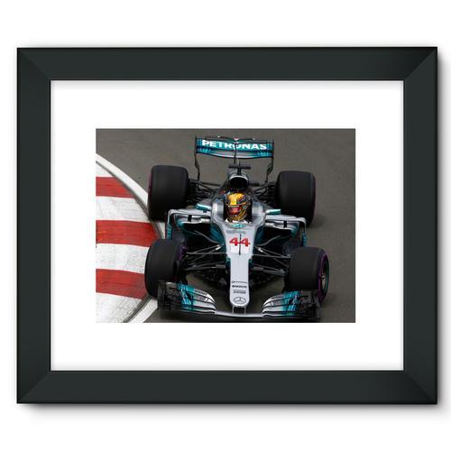 Lewis Hamilton, Mercedes AMG F1 W08   Black