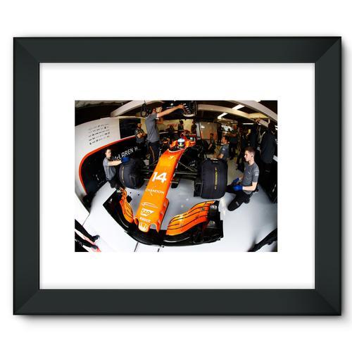 Fernando Alonso, McLaren MCL32   Black